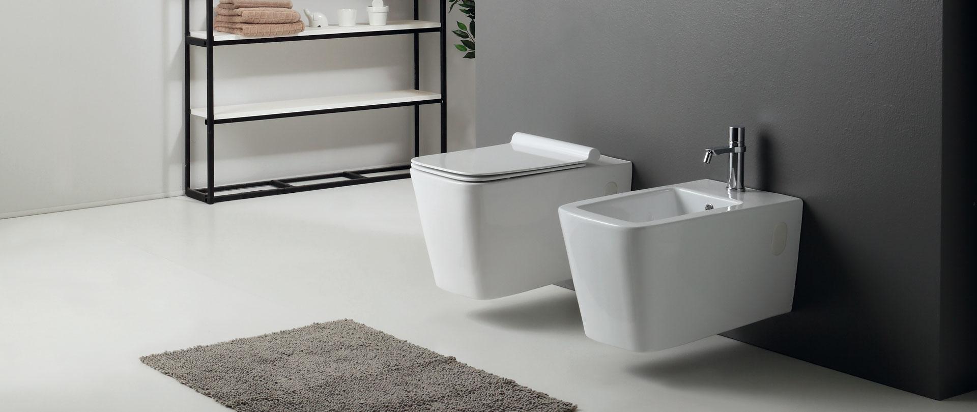 Arredo bagno e sanitari   nero ceramica